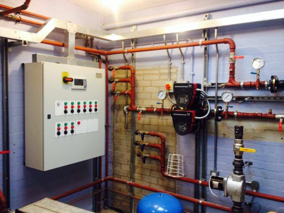 Boiler/Heating Plant Room – CHS Electrical Services
